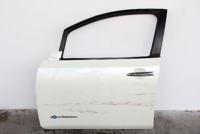 Nissan Leaf Front Door Assembly White Left/Driver H010M-3NAMA OEM 2012