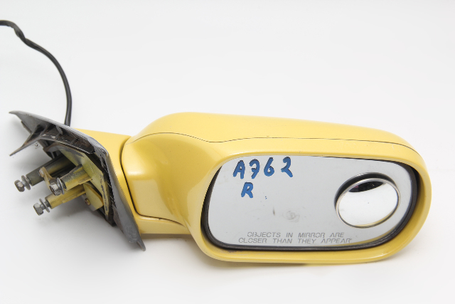 Nissan 300ZX Side View Mirror Right/Passenger Yellow J6301-31P00 OEM 1990-1994