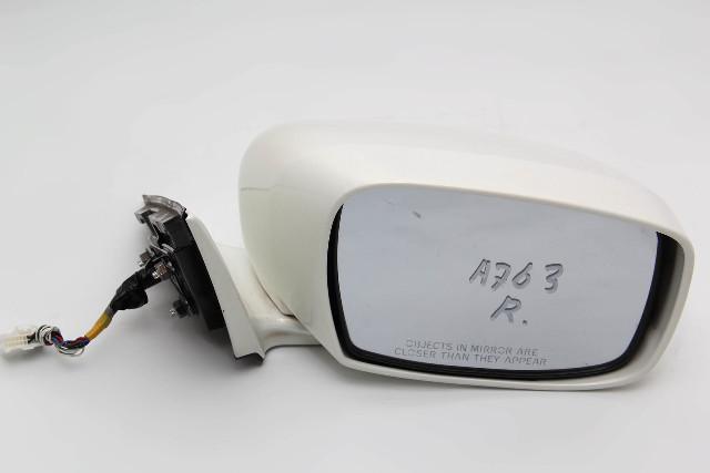 Infiniti M37 Power Side View Mirror Right/Passenger White K6301-1MA0B OEM 11-13