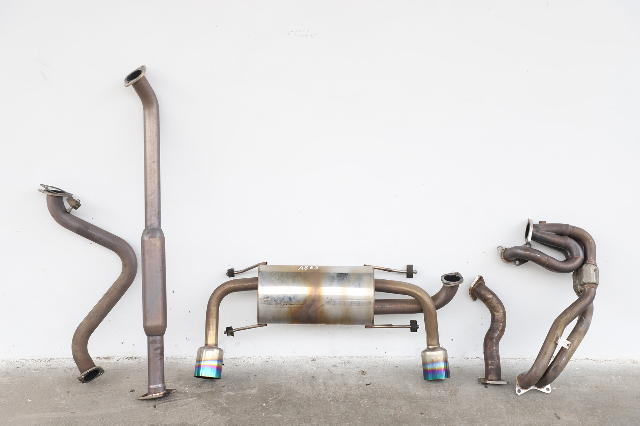 Scion FR-S 14 15 16 Exhaust Muffler W/ Tail Pipe AFTERMARKET 5 Piece Set A865