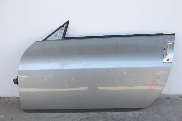 Nissan 350Z 03-07 Conv Front Left Driver Door Assy, Power, Silver OEM