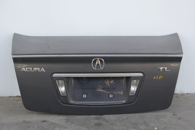 Acura TL 04 05 06 07 08 Trunk Deck Lid Assy Grey 68500-SEP-A90ZZ, Factory OEM