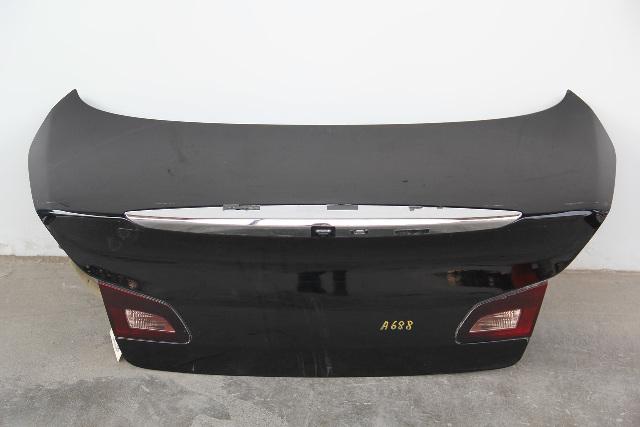 Infiniti G37 Sedan 2013 Trunk Deck Lid Tail Gate Black H4300-JK0MM OEM 08-13