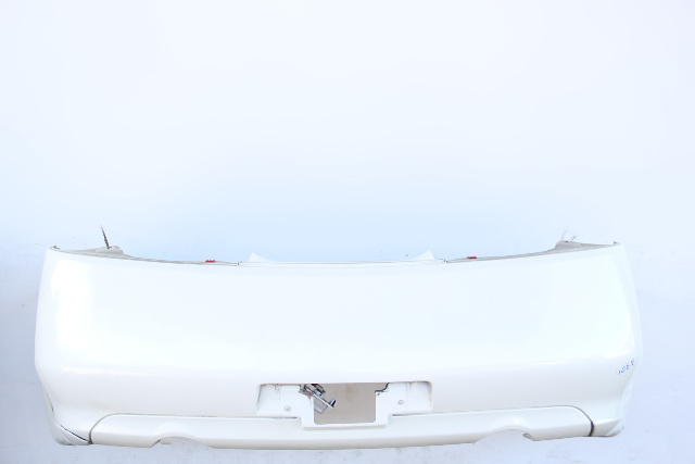 Infiniti G35 Coupe Rear Bumper Cover Assembly, White 85022-AM840 OEM 07-11