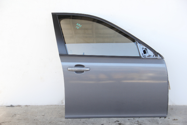 Saab 9-3 Sedan 08-11 Front Door Assy Right Side Electric, Grey 12768507