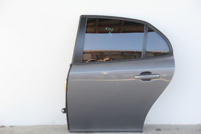Saab 9-3 Sedan 08-11 Rear Door Assy Left/Drivers Side Electric Grey 12780338 OEM