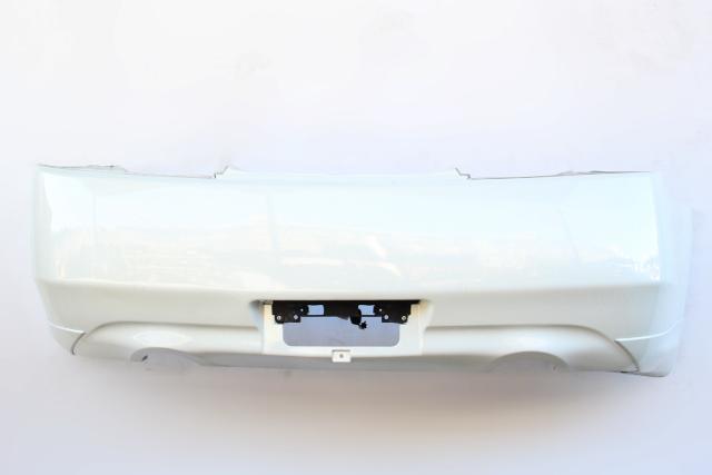 Infiniti G37 Coupe 08-13 Rear Bumper Cover Pearl White 85022-JL00H OEM