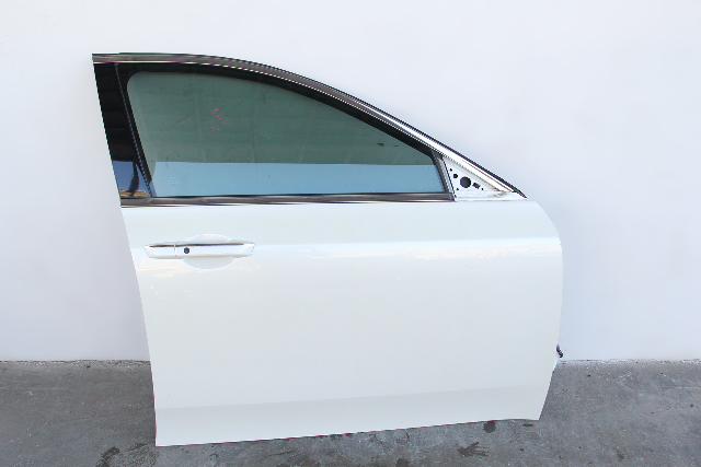 Acura TL 09-14 Front Door Assembly Right/Passenger's Side Pearl White OEM