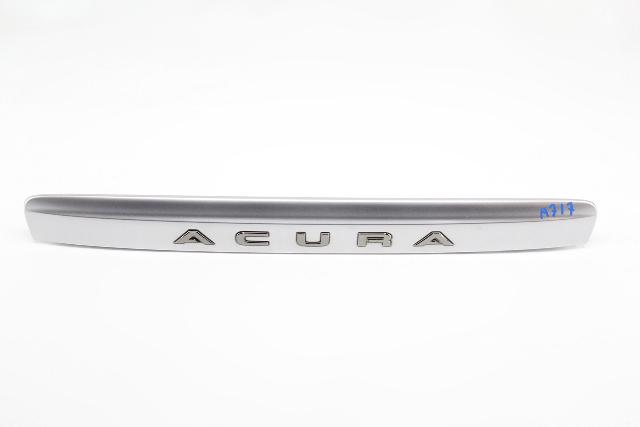 Acura MDX Trunk Tail Gate Trim Garnish Lid Silver OE 01 02 03 04 05 06 2001 2006