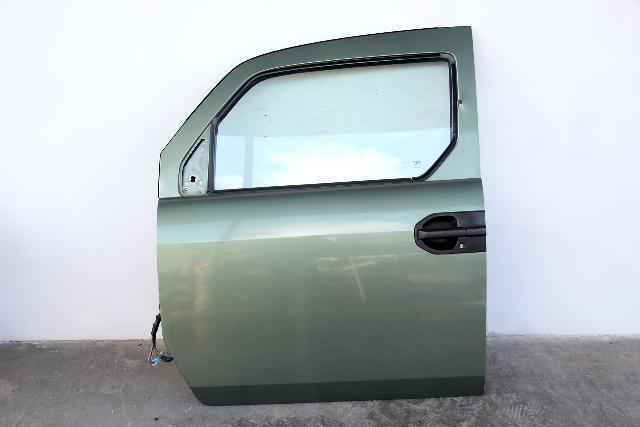 Honda Element Front Door Assembly Left/Driver Green 67050-SCV-A90 OEM 03-11