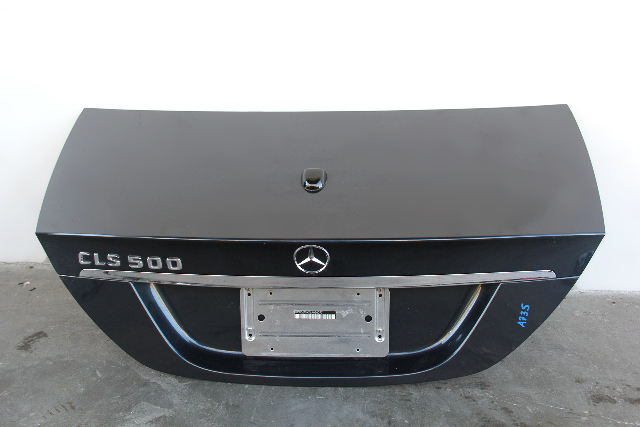 Mercedes Benz CLS500 Trunk Decklid Deck Lid Blue 2197500875 OEM 06