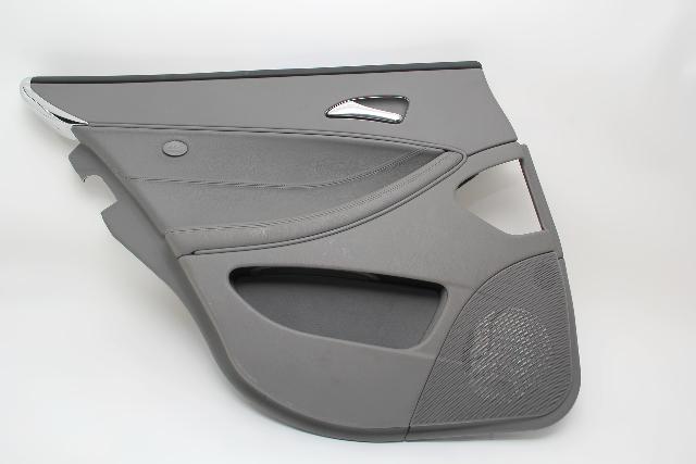 Mercedes Benz CLS500 Rear Left/Driver Door Panel Grey OEM 06