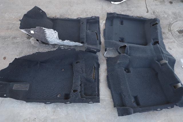 Toyota Venza 12-17 Black Full Floor Front/Rear Carpet 58510-0T014 OEM 58514-0T012