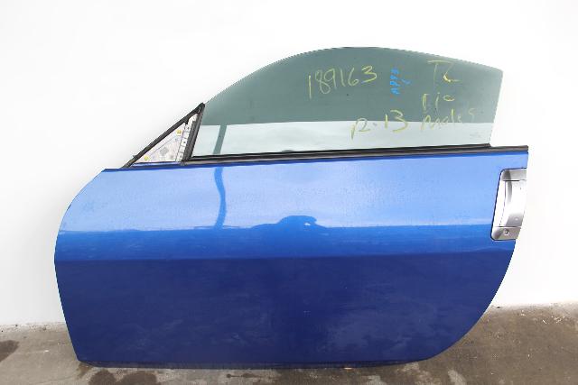 Nissan 350Z 03-07 Front Left Driver Door Assy, Power, Blue OEM
