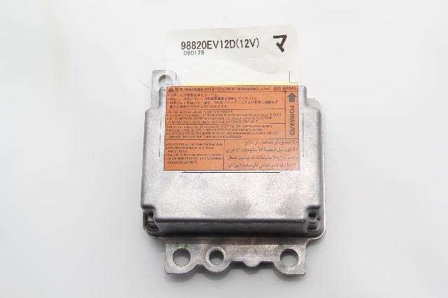 Nissan 350Z SRS Unit, Air Bag Unit Module Computer K8820-EV12D, 06-08