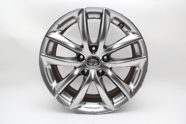 Infiniti G37 Sedan Wheel Rim 5 Double Spoke 17x7.5 OEM  D0300-JK010 2009 #5
