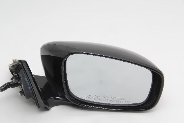 Infiniti G37 Sedan Power Side View Mirror Right/Passenger Black OEM 08-13