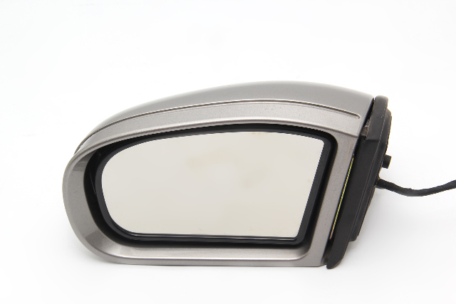 Mercedes C230 01-07 Side View Mirror, Left/Driver's Side, Silver 2038100721