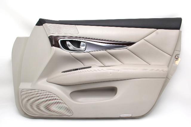 Infiniti M37 Sedan 11-12 Front Right Door Panel, Grey 80900-1MA0C