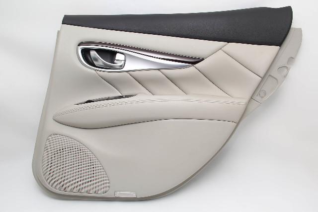 Infiniti M37 Sedan 11-12 Rear Right Door Panel, Grey 82900-1MA0C