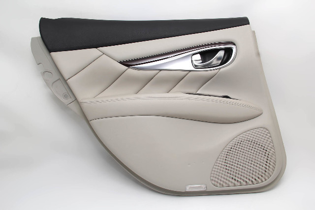 Infiniti M37 Sedan 11-12 Rear Left Door Panel, Grey 82901-1MA0C