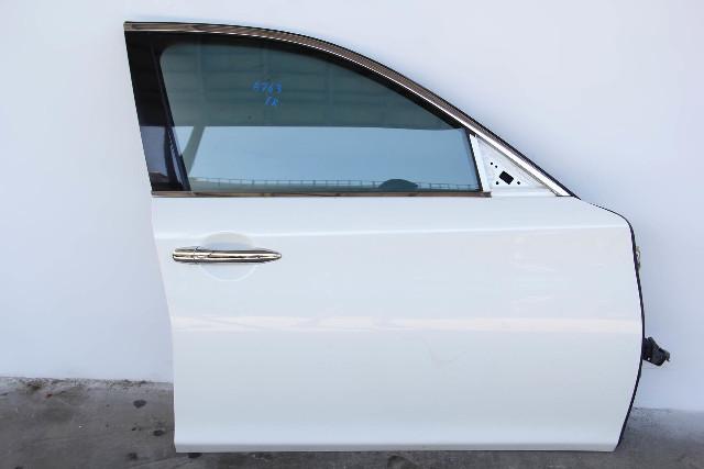 Infiniti M37 Sedan 11-13 Front Door, Right Side Electric White, 2011 2012 2012