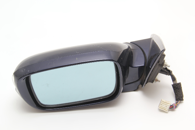 Acura RL Side View Mirror Left Driver Blue 76250-SJA-305 OEM 05 06 07 08