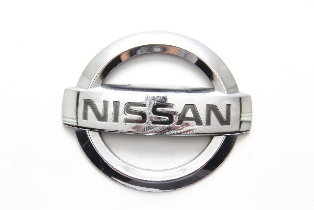 Nissan 350Z 03-09 Rear Trunk Lift Gate LOGO EMBLEM (NISSAN) 84890-CD000 2003, 2004, 2005, 2006, 2007, 2008, 2009