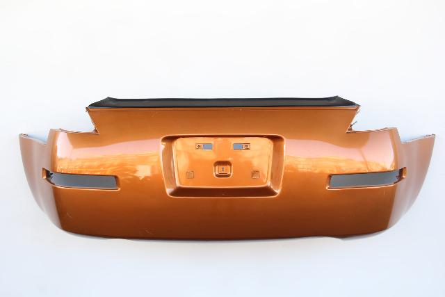 Nissan 350Z 03-09 Rear, Bumper Face Cover, Orange HEM22-CF41H