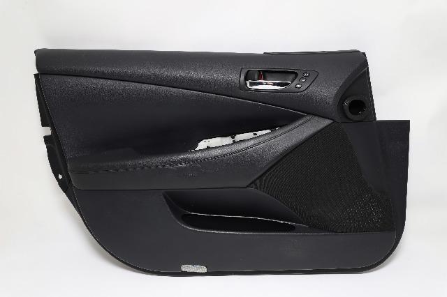 Lexus ES350 Front Door Panel Trim LeftDriver Black 07-12 OEM