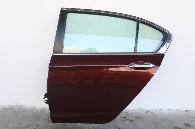 Honda Accord Sedan 13-17 Rear Door Assy Left Side Burgundy 67550-TA0-A90ZZ