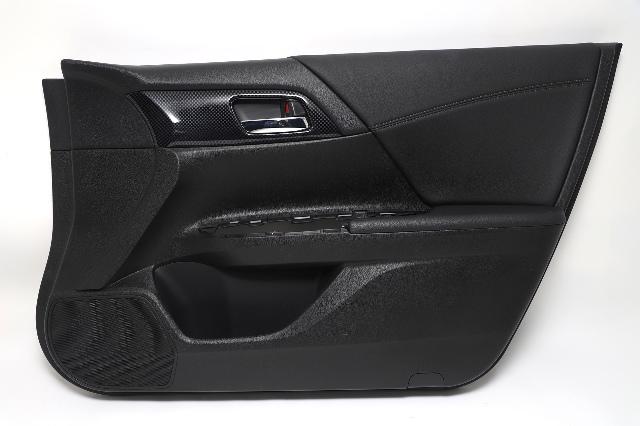 Honda Accord Sedan Front Door Panel Trim Right Black 83500-T2F-A82 OEM 2013-2015