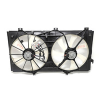 Lexus ES350 Cooling Radiator Fans with Shrouds 07-12 A974 2007, 2008, 2009, 2010, 2011, 2012