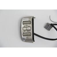 Infiniti QX56 Steering Wheel Cruise Volume Switch Switches Silver OEM 04 05 06 07