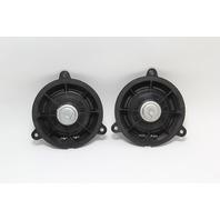 Infiniti G35 Sedan Rear Door Radio Audio Speaker Set 28156-AM90A OEM 07-08