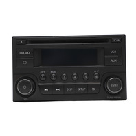 Nissan 370Z Radio AM/FM AUX CD Player 28185-6GA0A Factory 16-20 A964 2016, 2017, 2018, 2019, 2020