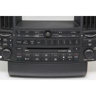 Infiniti FX35 FX45 Radio Audio Climate Navigation Control 28396-CG710 OEM 04-05