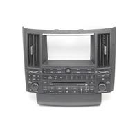 Infiniti FX35 FX45 Radio Audio CD Tape Climate Control Panel  28936-CG710, 04-05