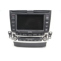 Acura TSX 6 Disc CD Changer Player Navigation Screen Radio Climate Control 2004
