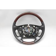 Lexus LS460 Steering Wheel with Wood Grain Trim Black  45100-50240-C0 OEM A943 07-12 2007, 2008, 2009, 2010, 2011, 2012