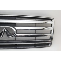 Infiniti QX56 Front Upper Grille Grill Chrome 62310-7S600 OEM 04-08