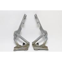 Infiniti QX56 Hood Hinge Left/Right Side Pair Set (2) Silver OEM 2004-2010 A836