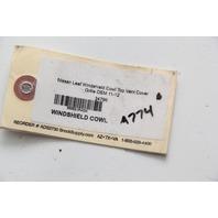 Nissan Leaf Windshield Cowl Top Vent Cover Grille OEM 11-12