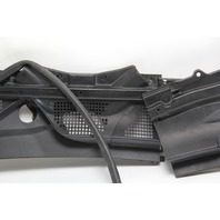 Nissan 370Z Windshield Cowl Top Vent Cover Grille Set OEM 09-19
