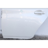 Toyota Prius Rear Door Assembly Left/Driver Side Electric White OEM 10-15 A854
