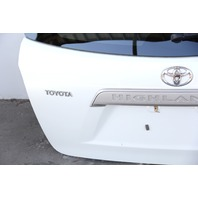 Toyota Highlander Liftgate Deck Trunk Lid Stationary Glass w/o Rear Camera 08-13