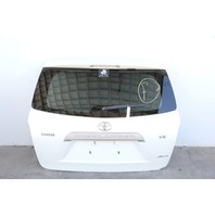 Toyota Highlander Liftgate Deck Trunk Lid Stationary Glass w/o Rear Camera 08-13