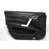Acura RDX 07-12 Front Left/Driver Side Door Panel Black OEM 67050-STK-A90 A939 2007, 2008, 2009, 2010, 2011, 2012