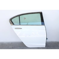 Honda Accord Sedan Hybrid 14-15 Rear Right Door Assy White 67510-T2F-M00 A932 2014, 2015