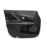 Toyota Venza Door Panel Trim Lining Front Left Black Leather 67620-0T081, 11-15